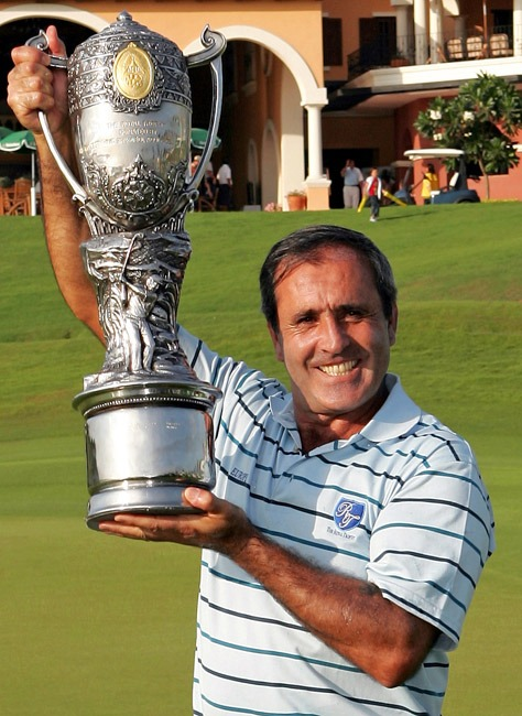 Ballesteros winning captain at the Royal Trophy Amata Springs Thailand