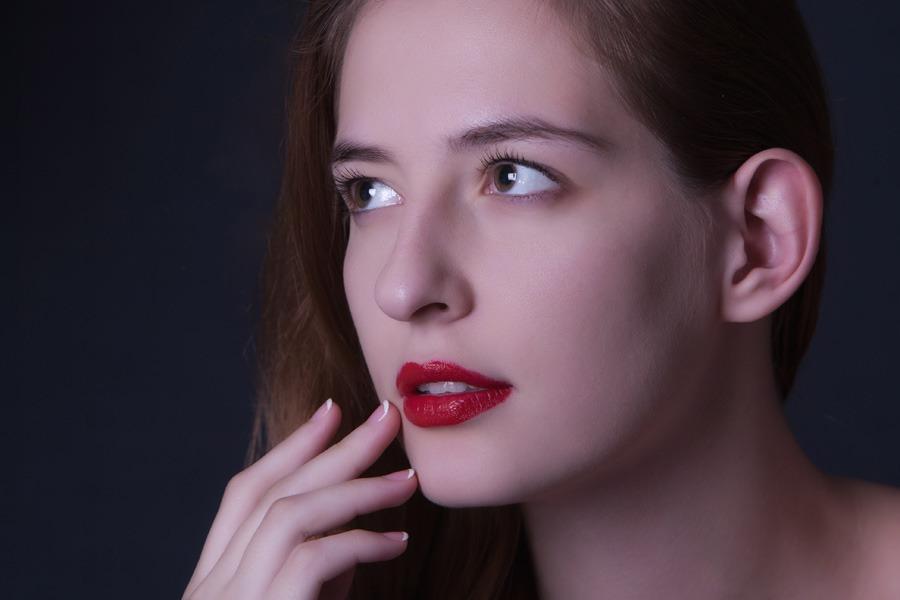 Studio Portrait Model In Thailand