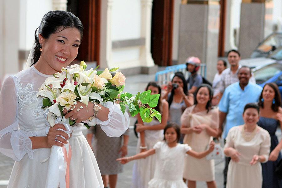 Wedding Photographer Thailand Church