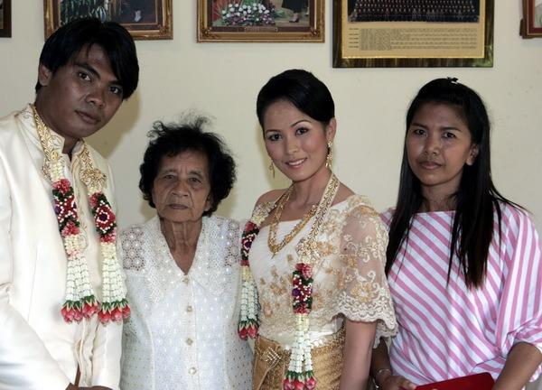 Photo Thailand traditional wedding