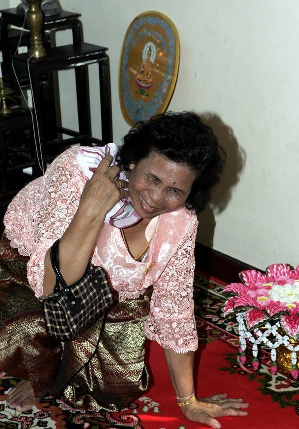 Thai traditional photographer