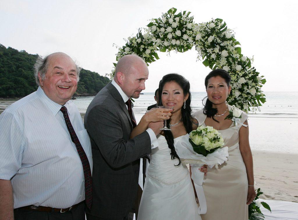 adrian & may photographer wedding island thailand