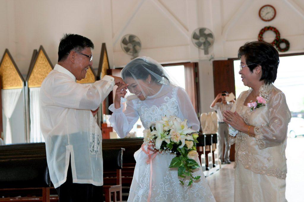 Bangkok Photographer Wedding Holy Redeemer Thailand Photo