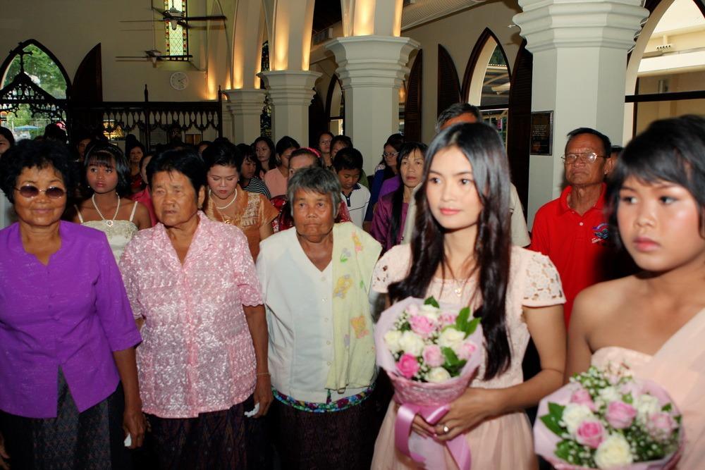 bangkok ryan & som christ's ceremony thailand