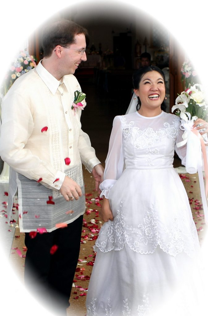 Bangkok Thailand Philippe & Jana Photo Wedding Church