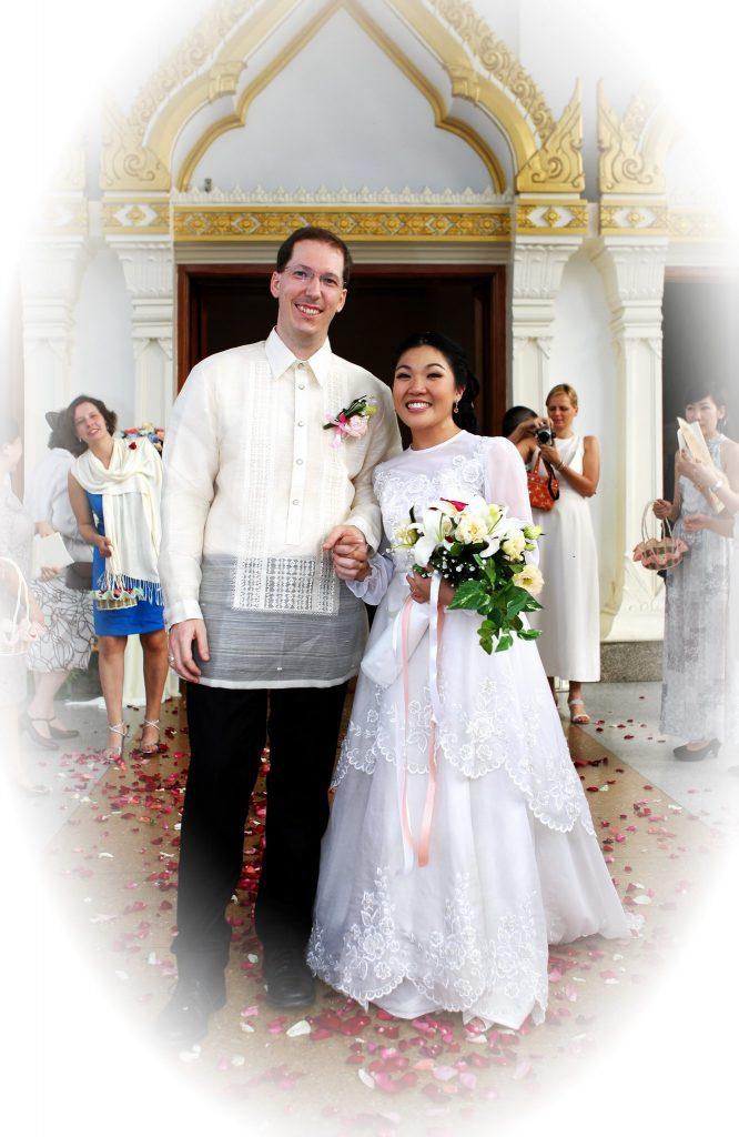 Bangkok Thailand Photo Wedding Church Photographer