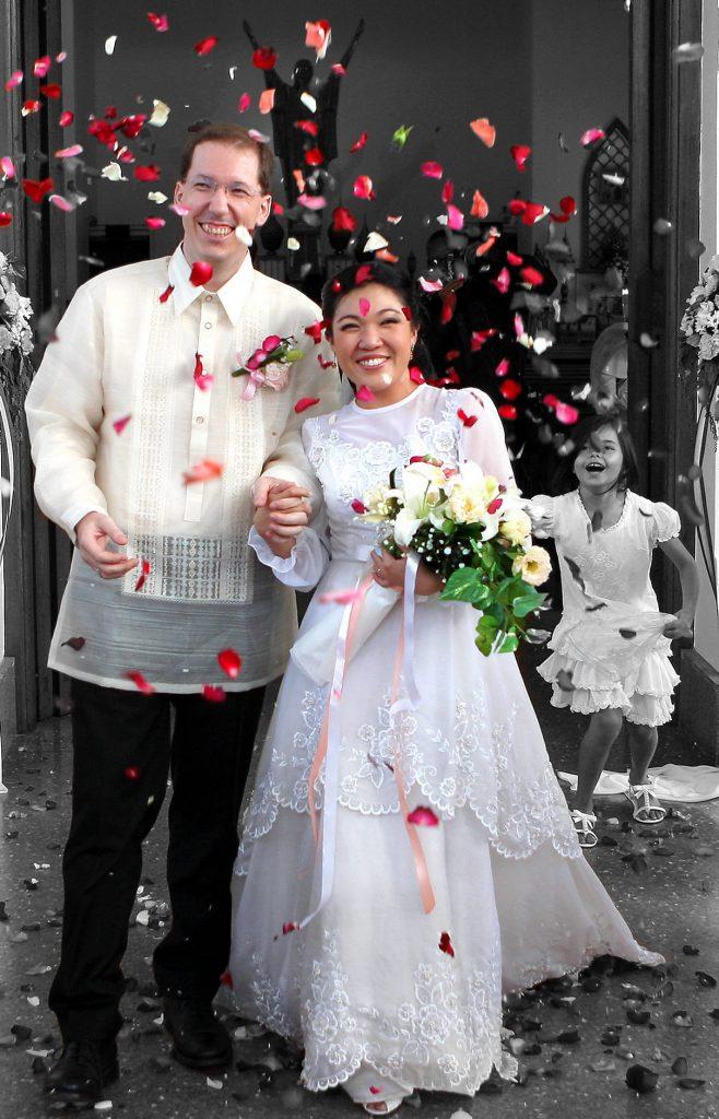Bangkok Thailand Wedding Philippe & Jana Holy Redeemer Photographer