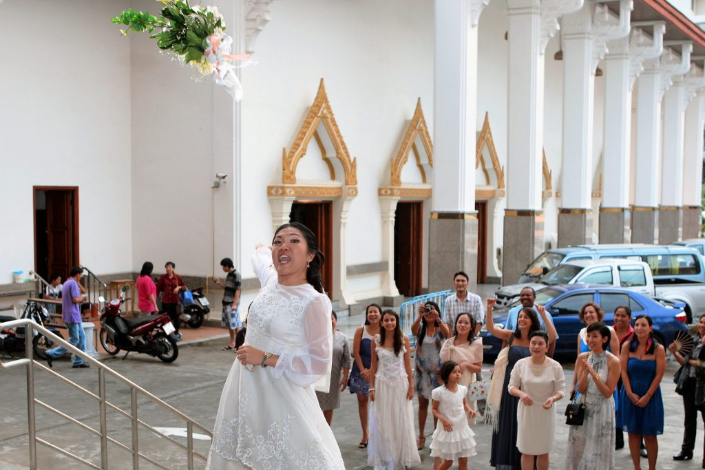 Bangkok Wedding Holy Redeemer Thailand Church Philippe & Jana