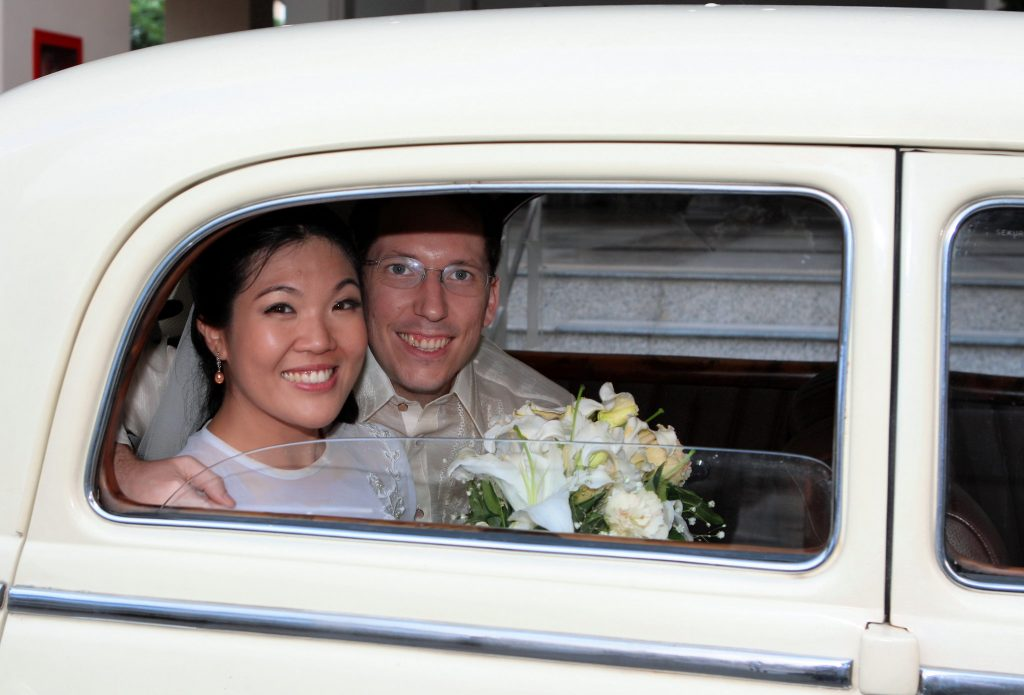 Bangkok Wedding Philippe & Jana Thailand Holy Redeemer Photo