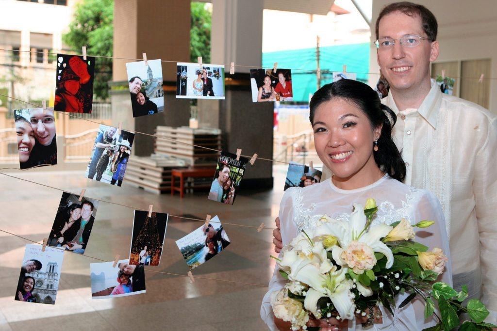 Bangkok Wedding Photographer Philippe & Jana Church Photo