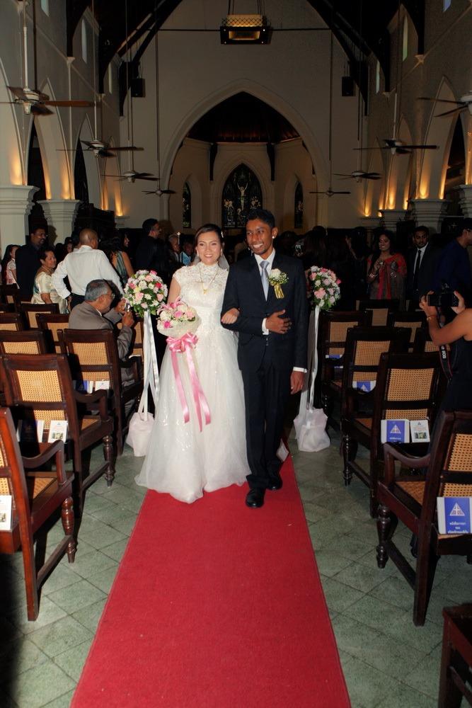 ceremony bangkok wedding christ's thailand