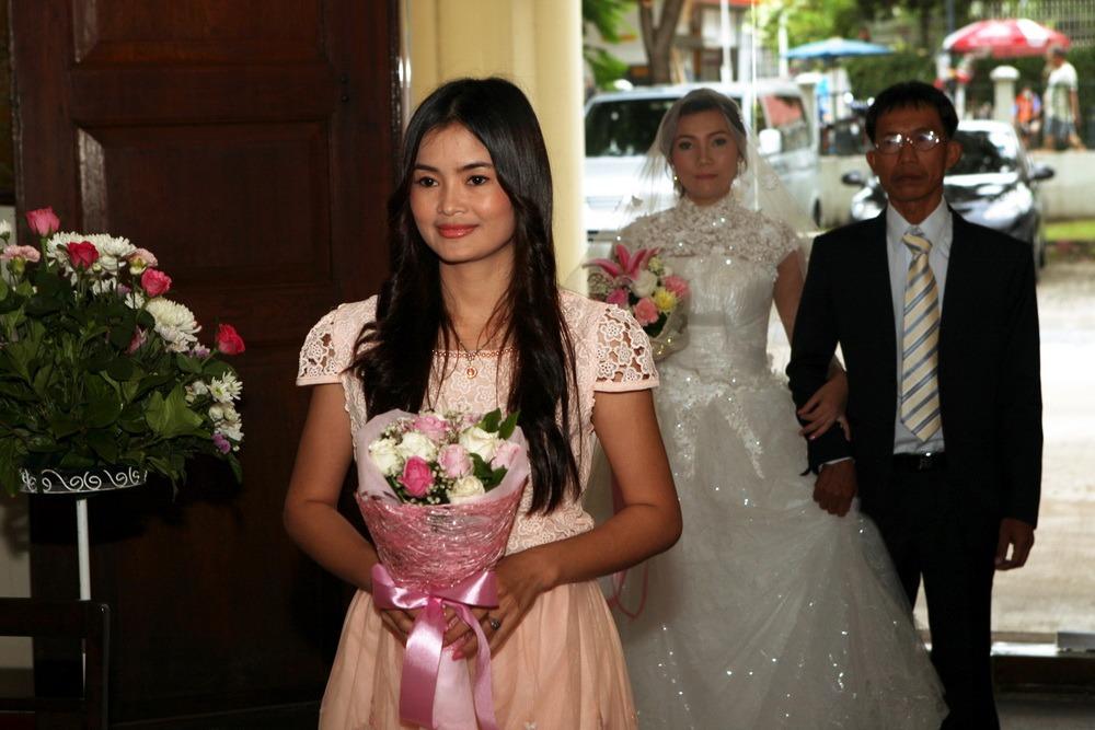 church bangkok wedding christ's ceremony