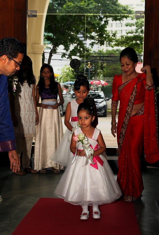 church christ's wedding bangkok ceremony