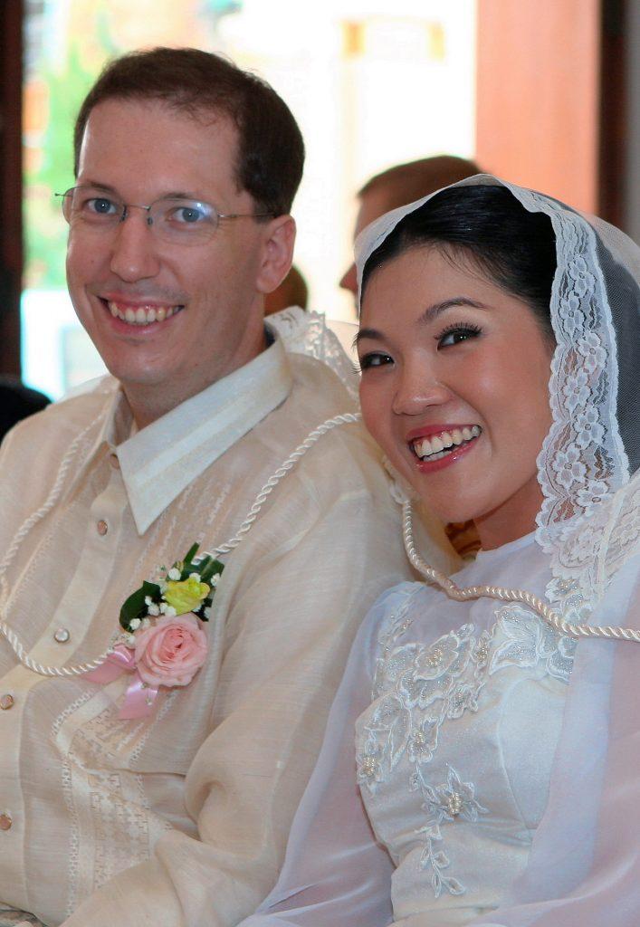 Church Holy Redeemer Wedding Photo Philippe & Jana Bangkok