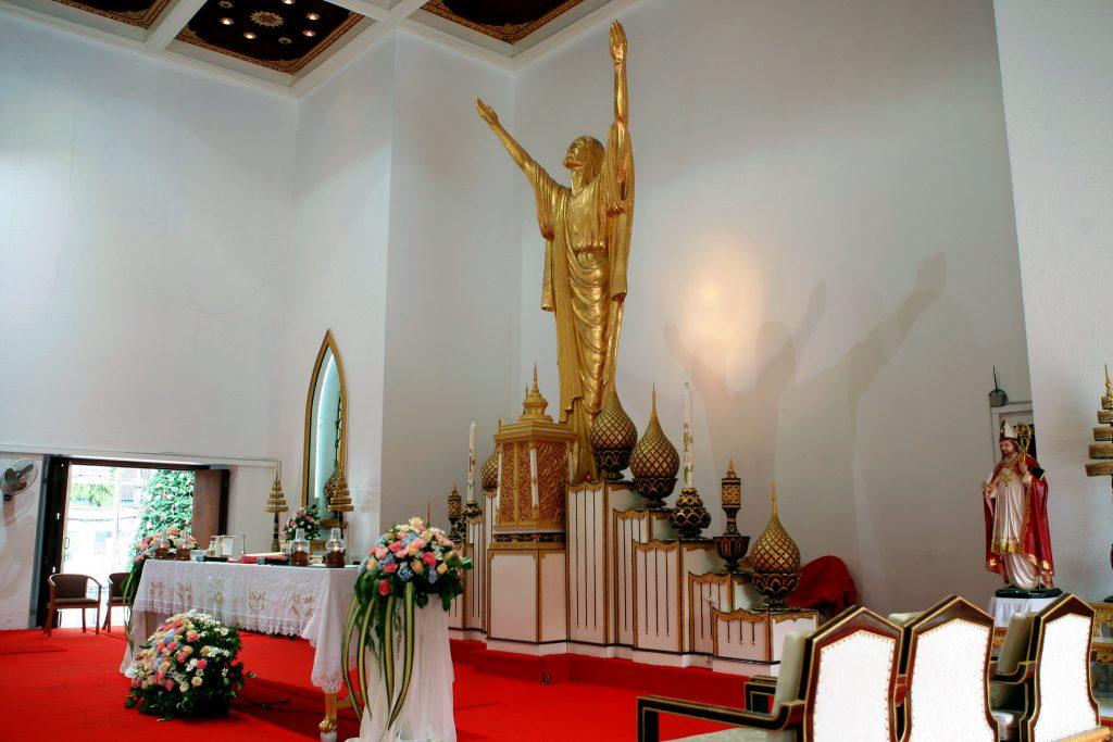 Church Photographer Holy Redeemer Philippe & Jana Thailand Wedding