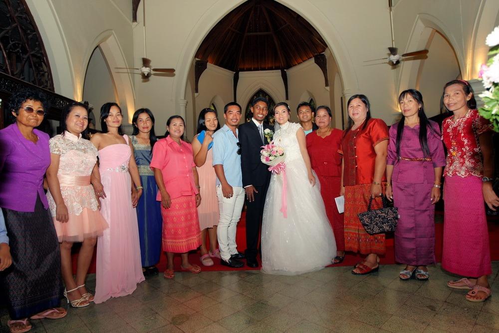 church wedding thailand christ's ryan & som