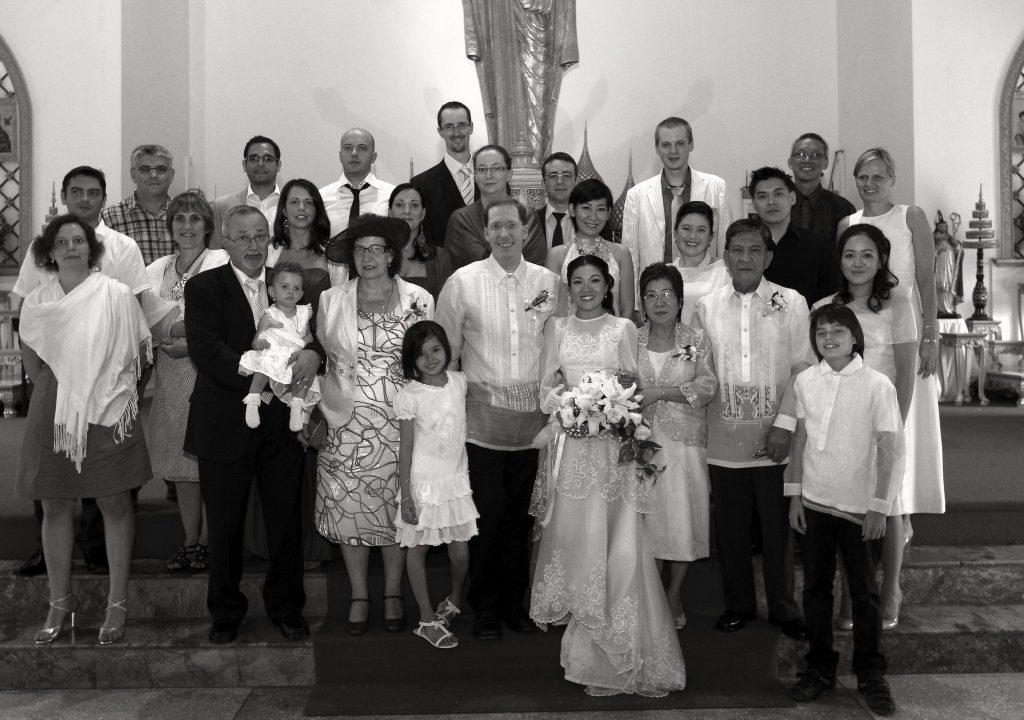 Philippe & Jana Holy Redeemer Church Wedding Thailand Bangkok
