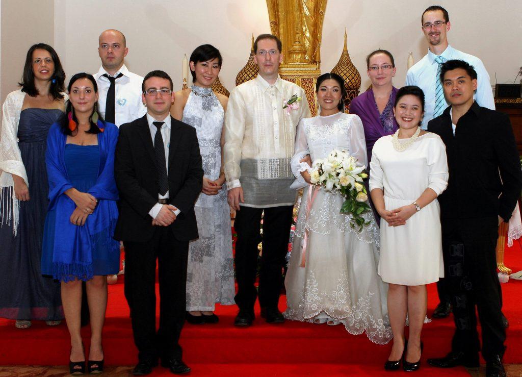 Photographer Holy Redeemer Bangkok Philippe & Jana Thailand Wedding
