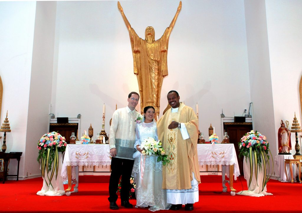 Photographer Holy Redeemer Thailand Philippe & Jana Wedding Bangkok