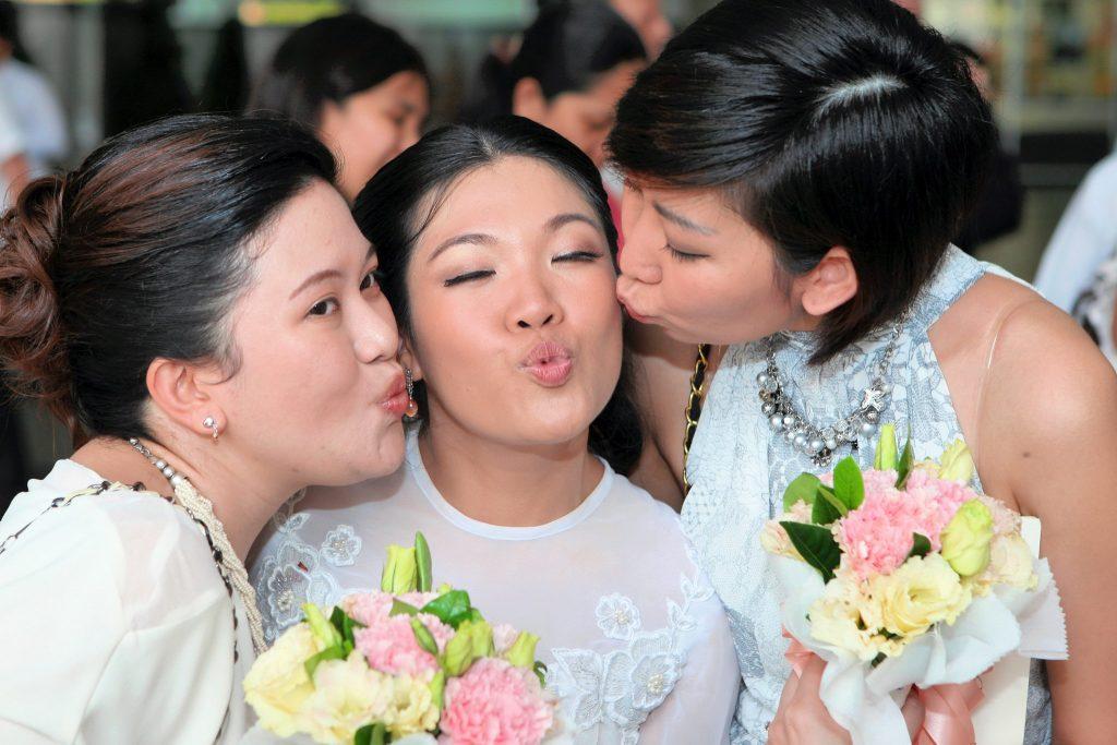 Photographer Wedding Holy Redeemer Church Thailand Photo