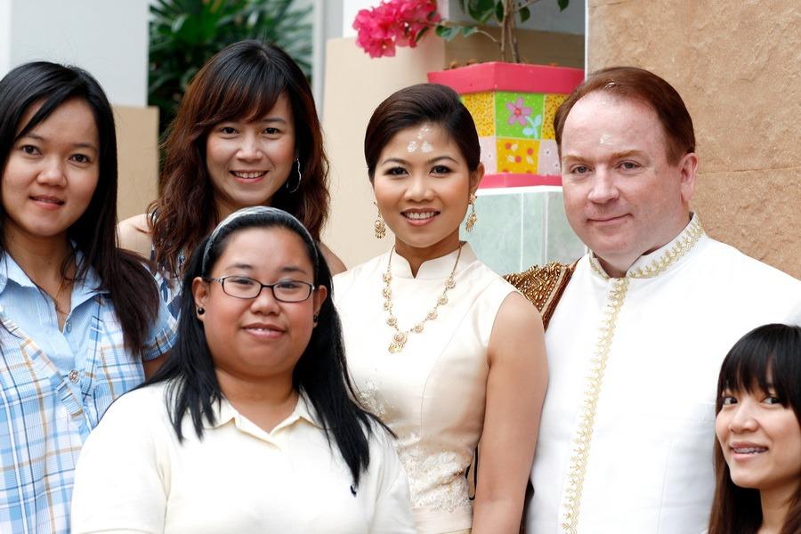pre wedding ceremony thailand