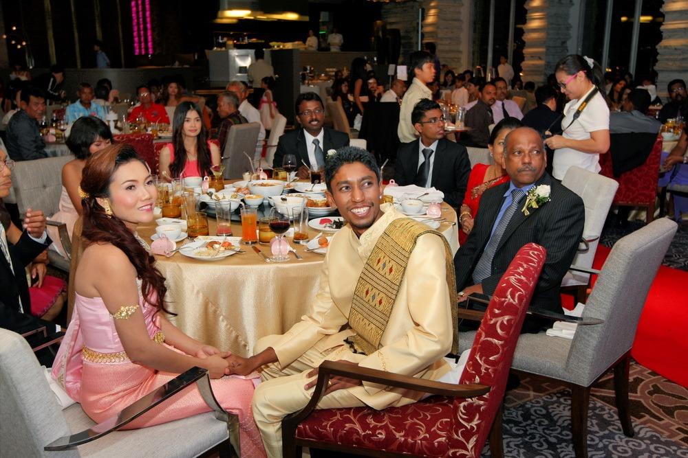 thailand ceremony wedding bangkok ryan & som