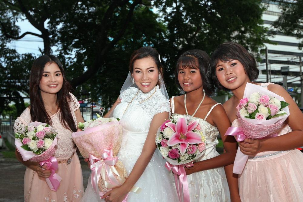 thailand church ryan & som wedding ceremony