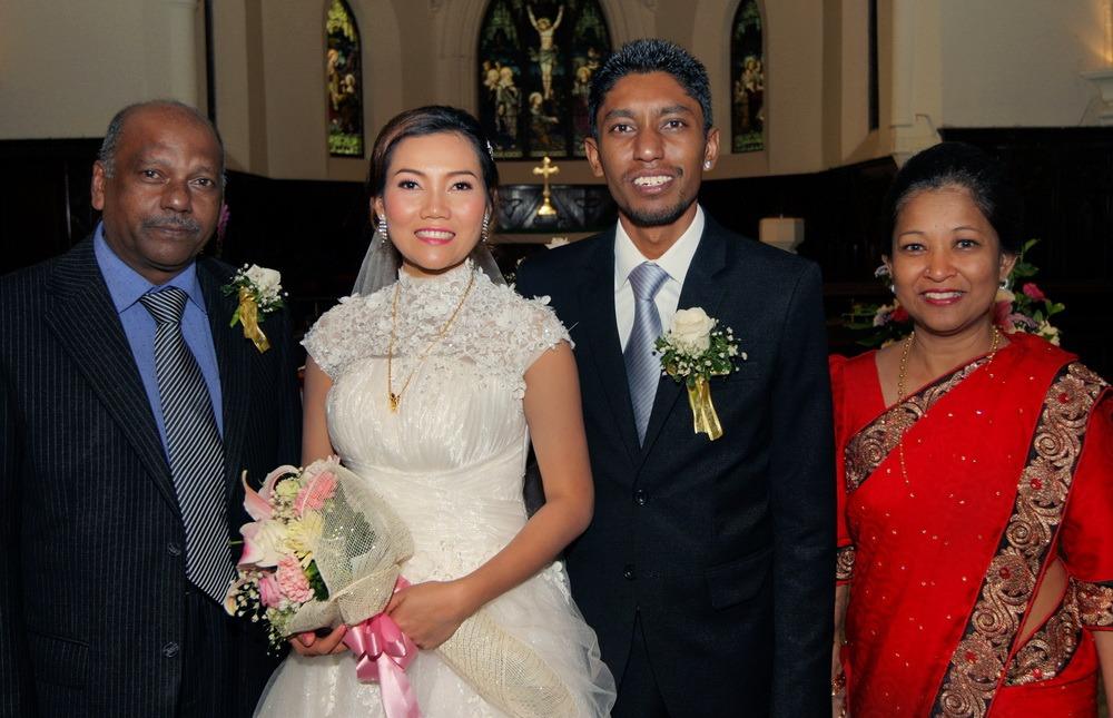 thailand church wedding ceremony bangkok
