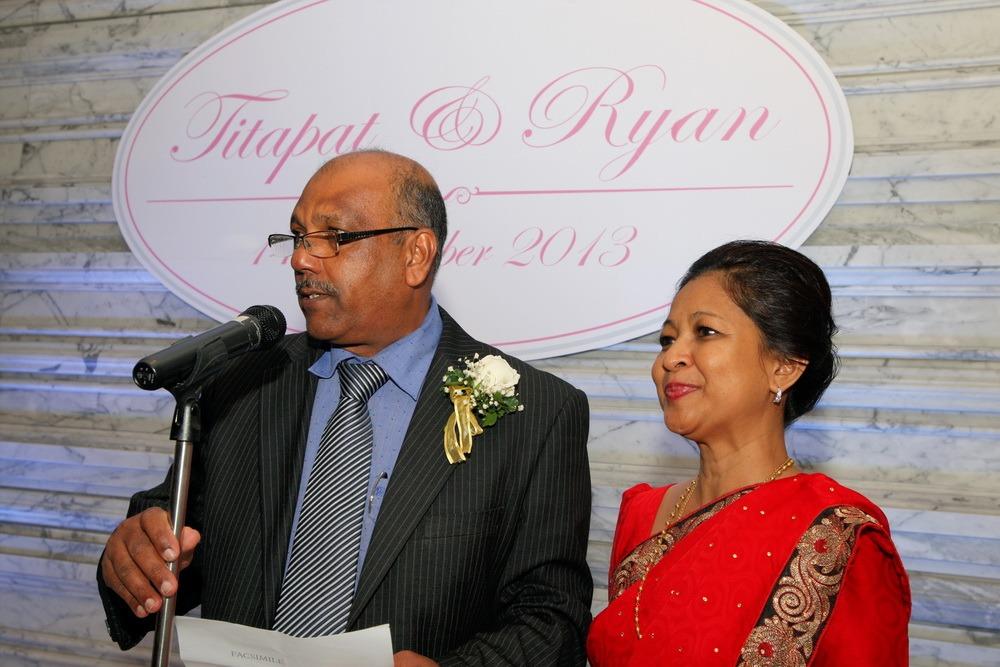 wedding christ's ceremony church ryan & som