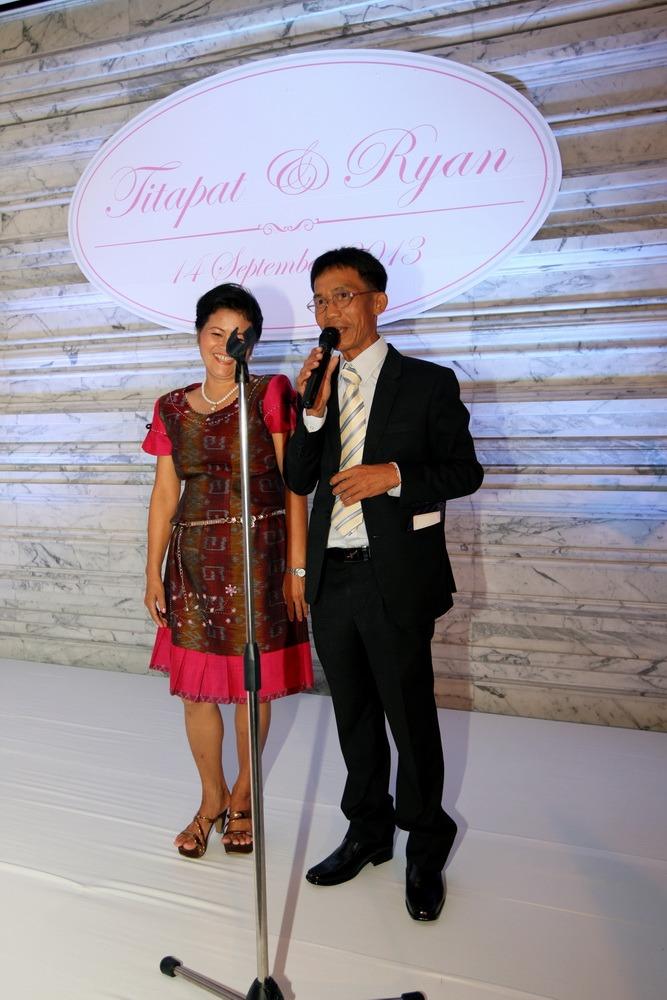 wedding christ's ryan & som bangkok ceremony