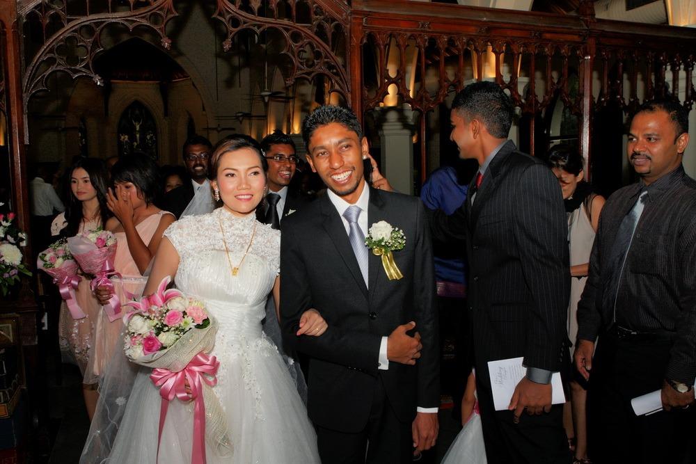 wedding ryan & som bangkok christ's church