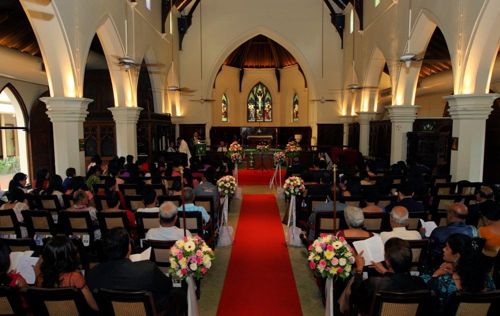 wedding ryan & som christ's ceremony thailand
