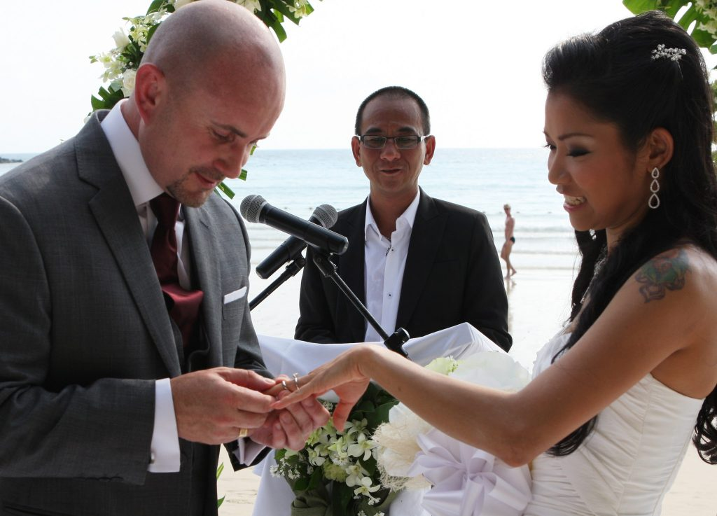 bangkok island thailand adrian & may wedding