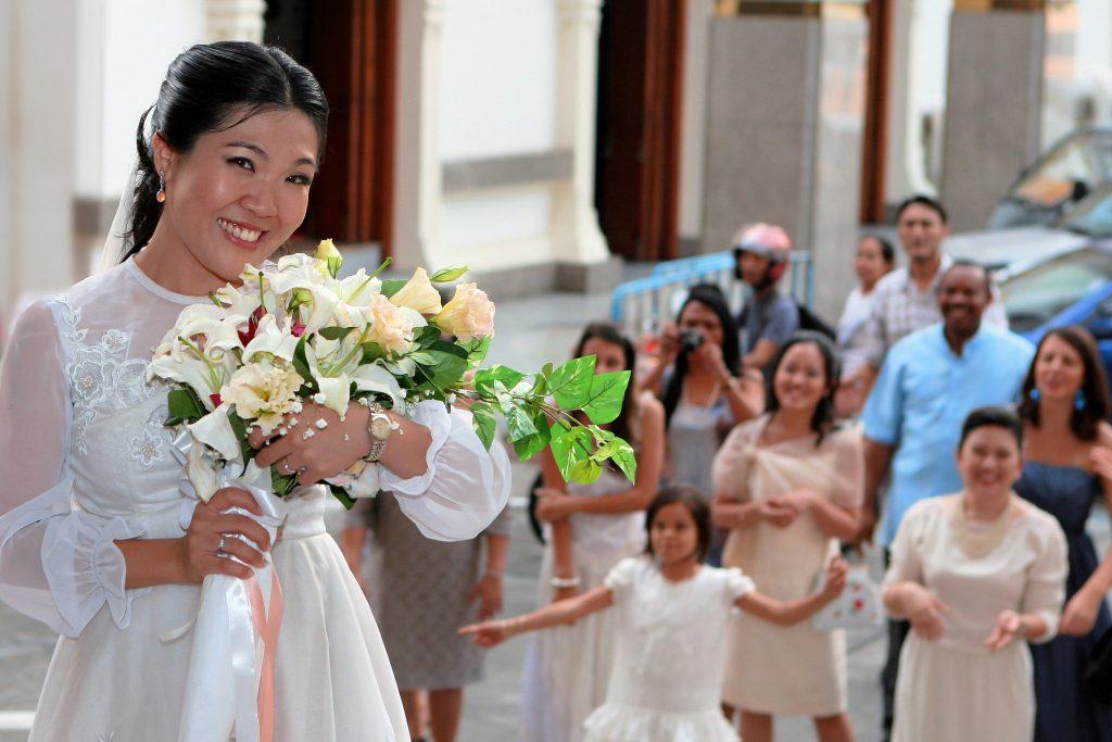 Bangkok Church Philippe & Jana Thailand Wedding Holy Redeemer