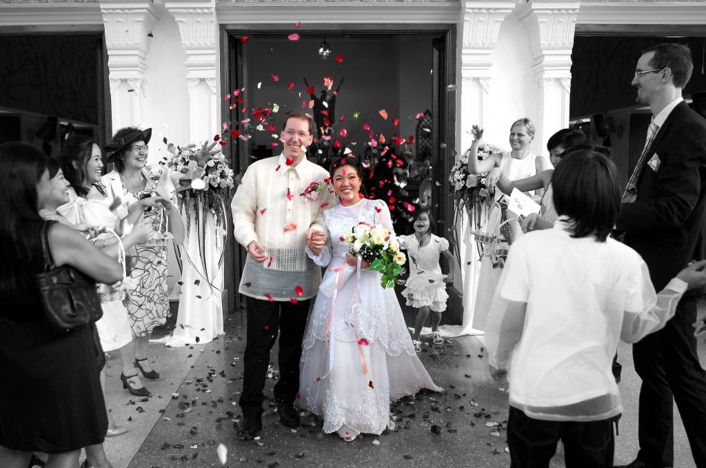 Philippe & Jana Holy Redeemer Church Wedding Bangkok Photographer