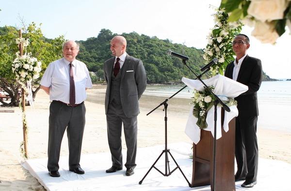 photographer island adrian & may bangkok wedding