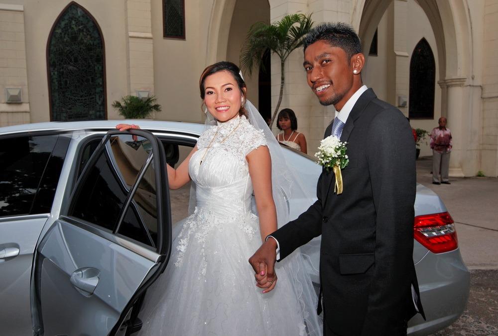 thailand church bangkok wedding ceremony