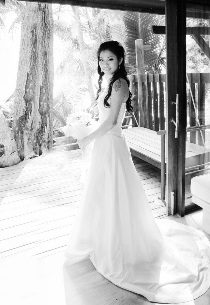 wedding destination bangkok adrian & may island