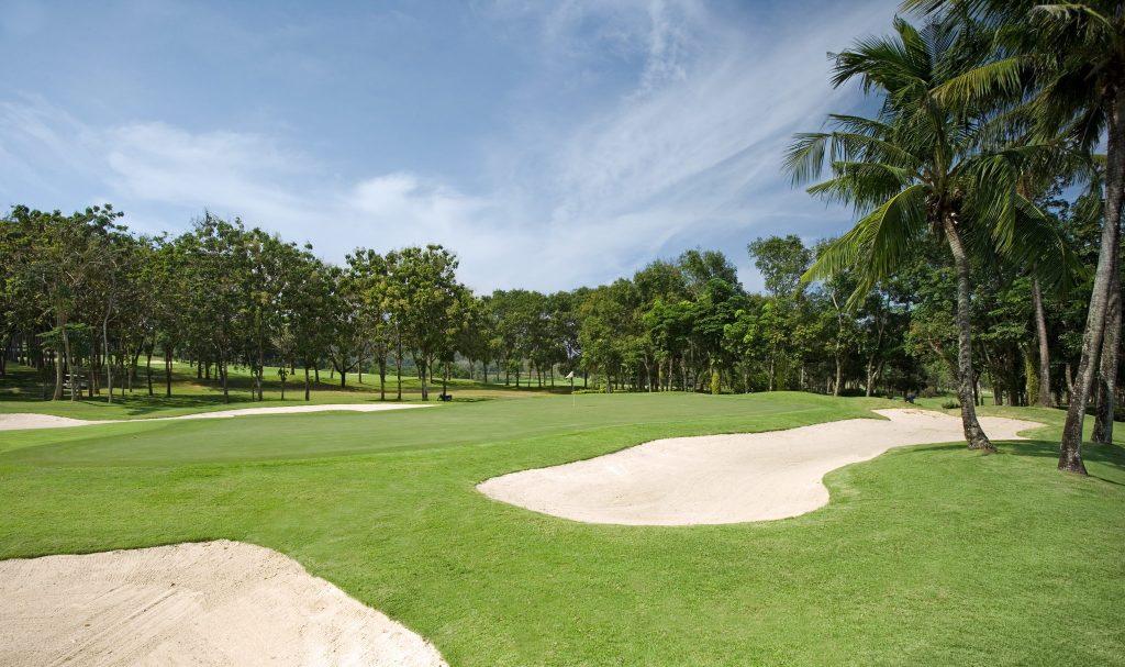 blue canyon country club phuket thailand 10th hole green