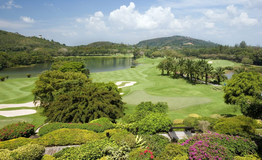 blue canyon country club phuket thailand 9th and 18th complex