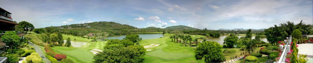 blue canyon country club phuket thailand clubhouse pano
