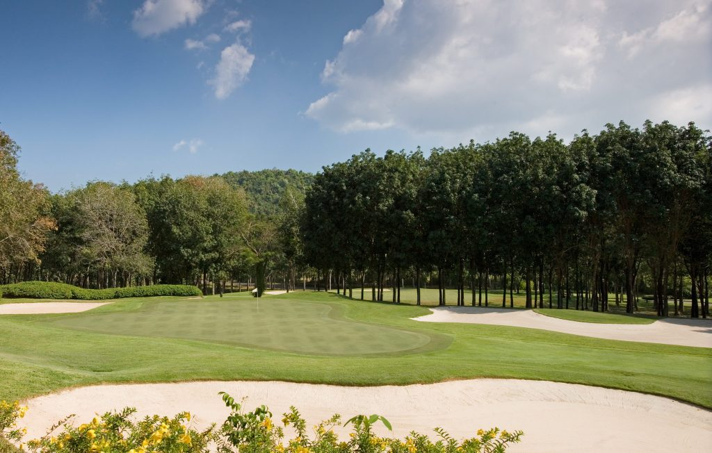 blue canyon country club phuket thailand hole green complex