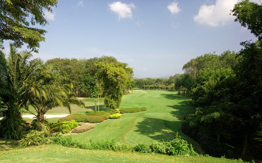 blue canyon country club phuket thailand hole number 10 tee