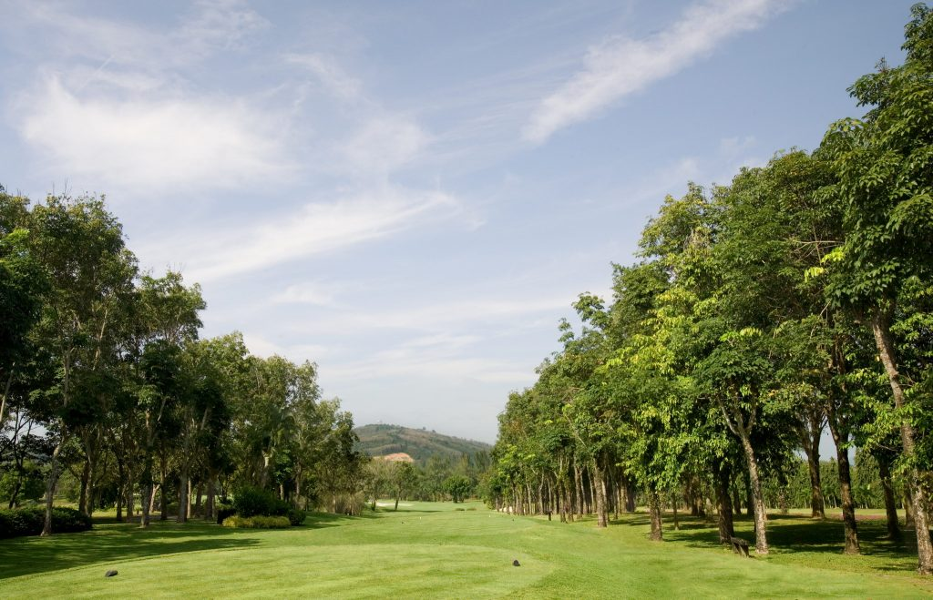 blue canyon country club phuket thailand hole number 11 tee