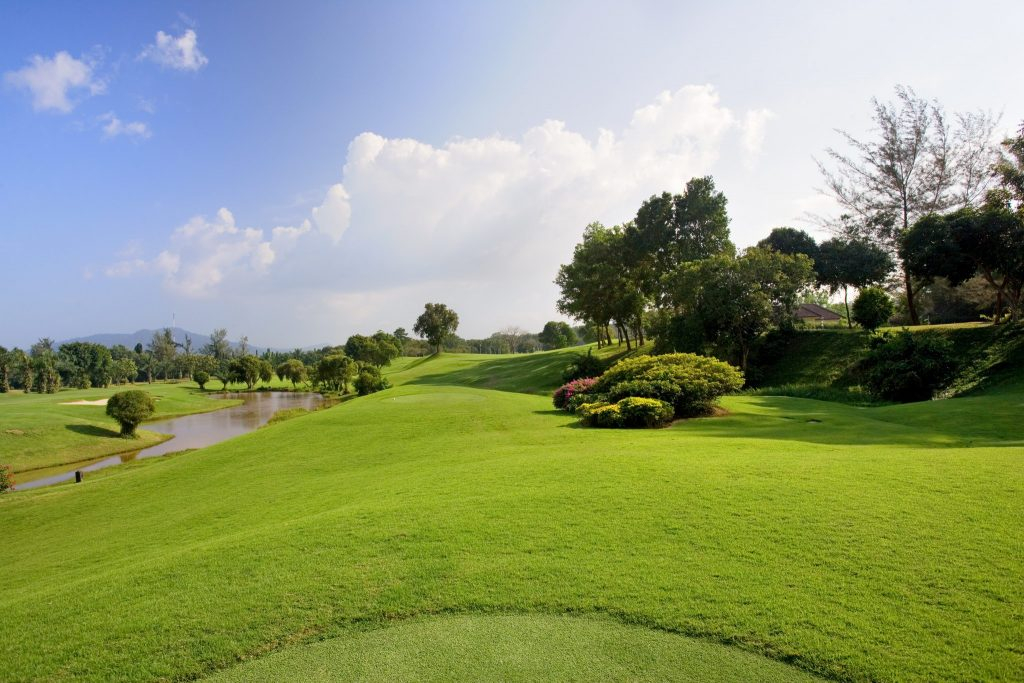 blue canyon country club phuket thailand hole number 12 tee
