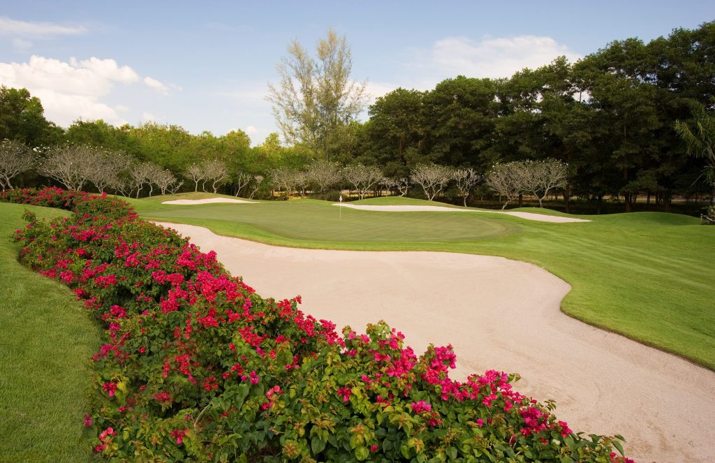 blue canyon country club phuket thailand hole number 15 green