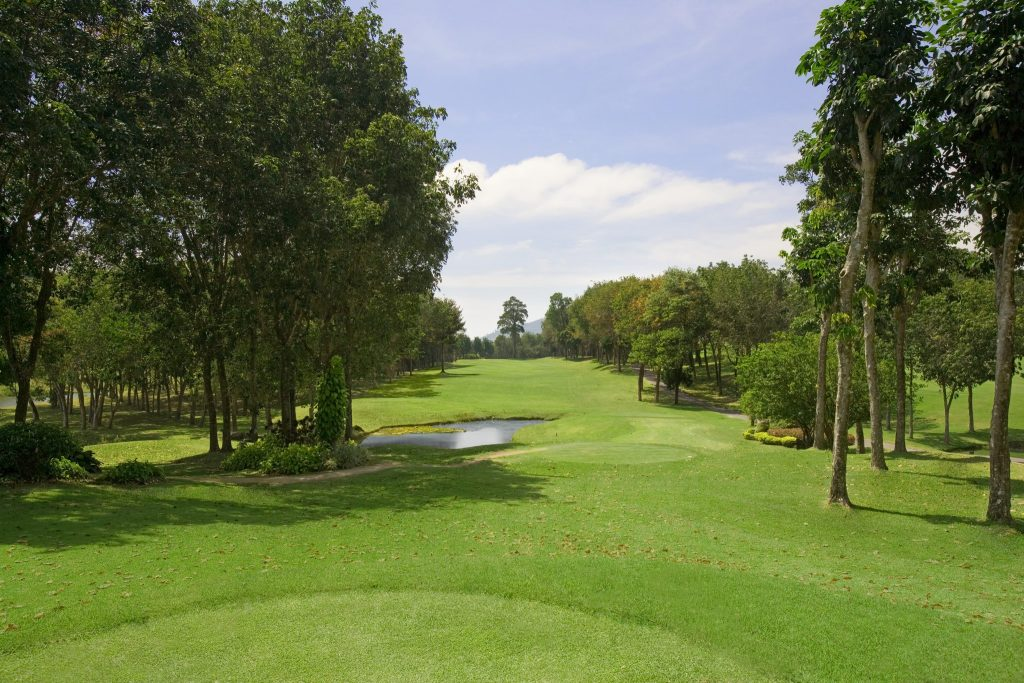 blue canyon country club phuket thailand hole number 3 tee