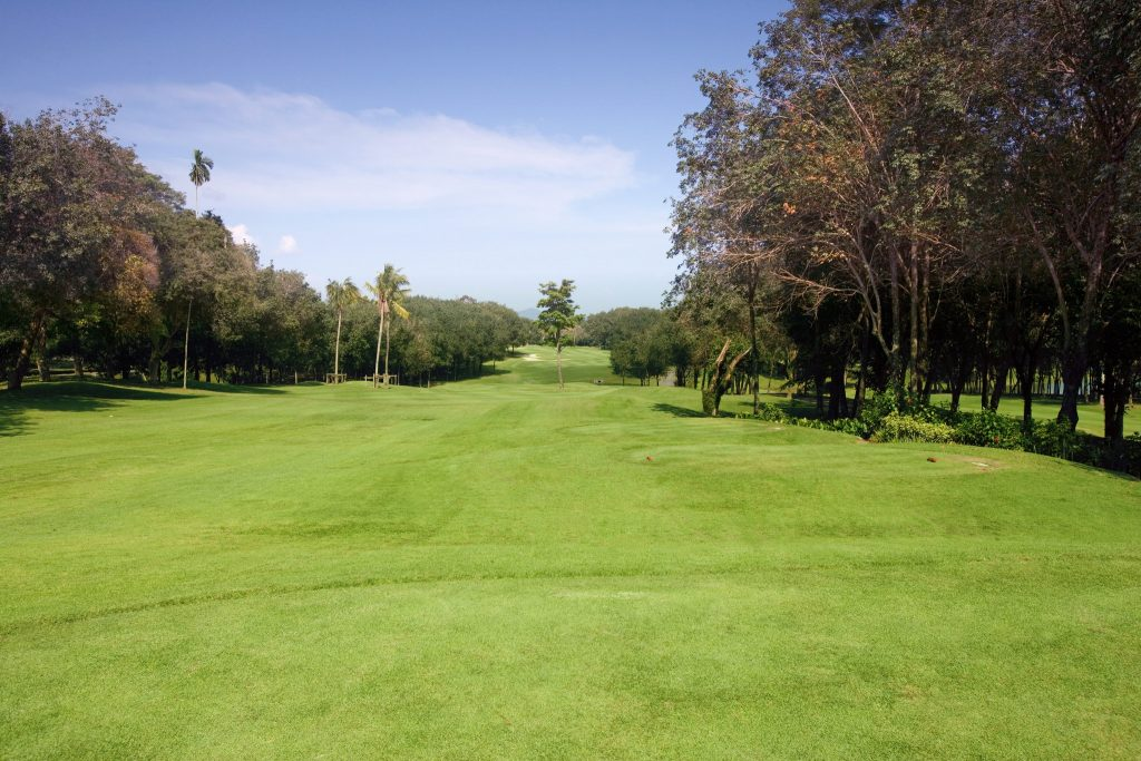blue canyon country club phuket thailand hole number 6 fairway