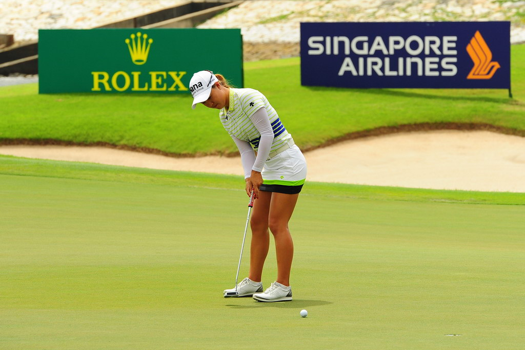 hsbc lpga golf event photographer singapore freelance