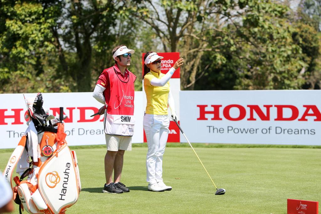 honda lpga sport thailand golf event